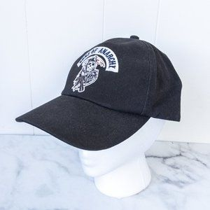 Sons of Anarchy Black Fitted Cap Hat